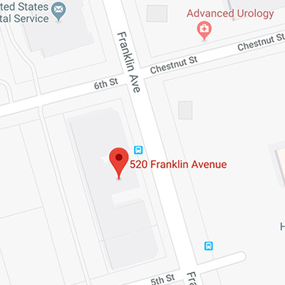 Location of 520 Franklin Ave, Garden City, NY 11530